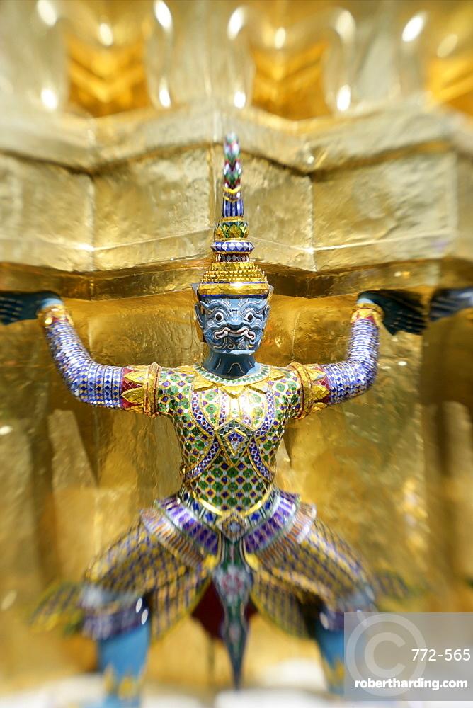 Wat Phra Kaew, Bangkok, Thailand, Southeast Asia, Asia