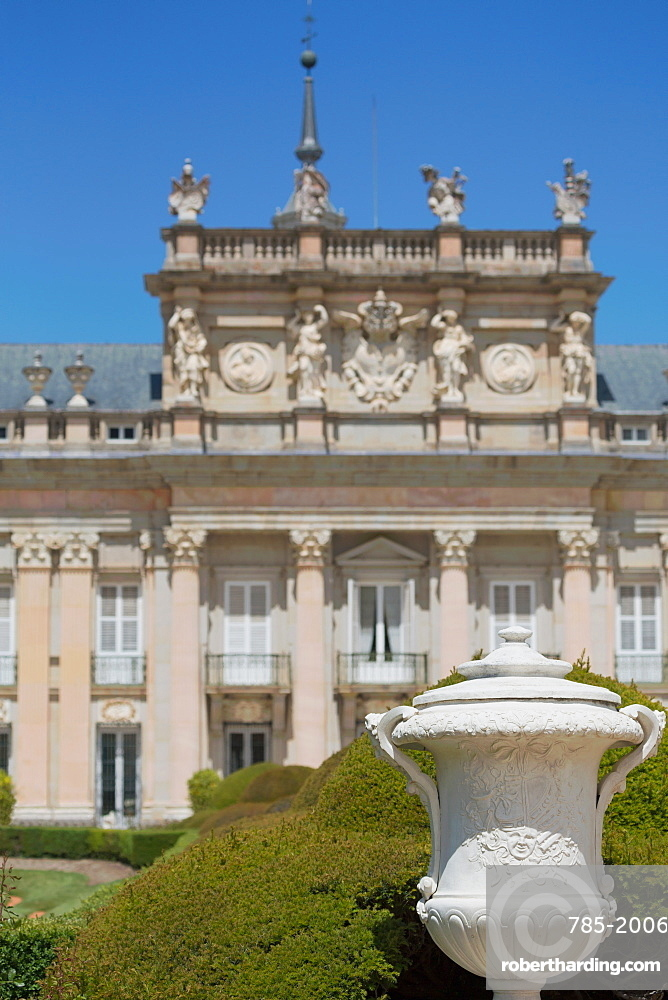 The Royal Palace of La Granja de San Ildefonso near Segovia, Castilla y Leon, Spain, Europe