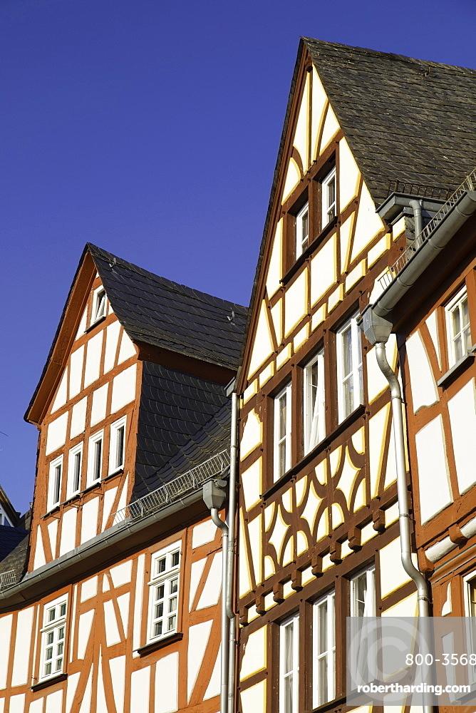 Half-timbered buildings, Limburg (Limburg an der Lahn), Hesse, Germany, Europe
