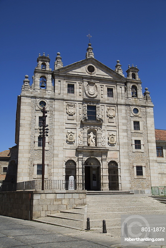 Convento de Santa Teresa, Avila, UNESCO World Heritage Site, Castile and Leon, Spain, Europe