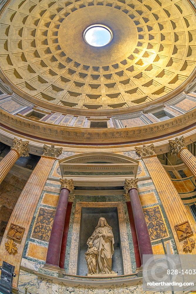 Pantheon, UNESCO World Heritage Site, Pigna, Rome, Lazio, Italy, Europe