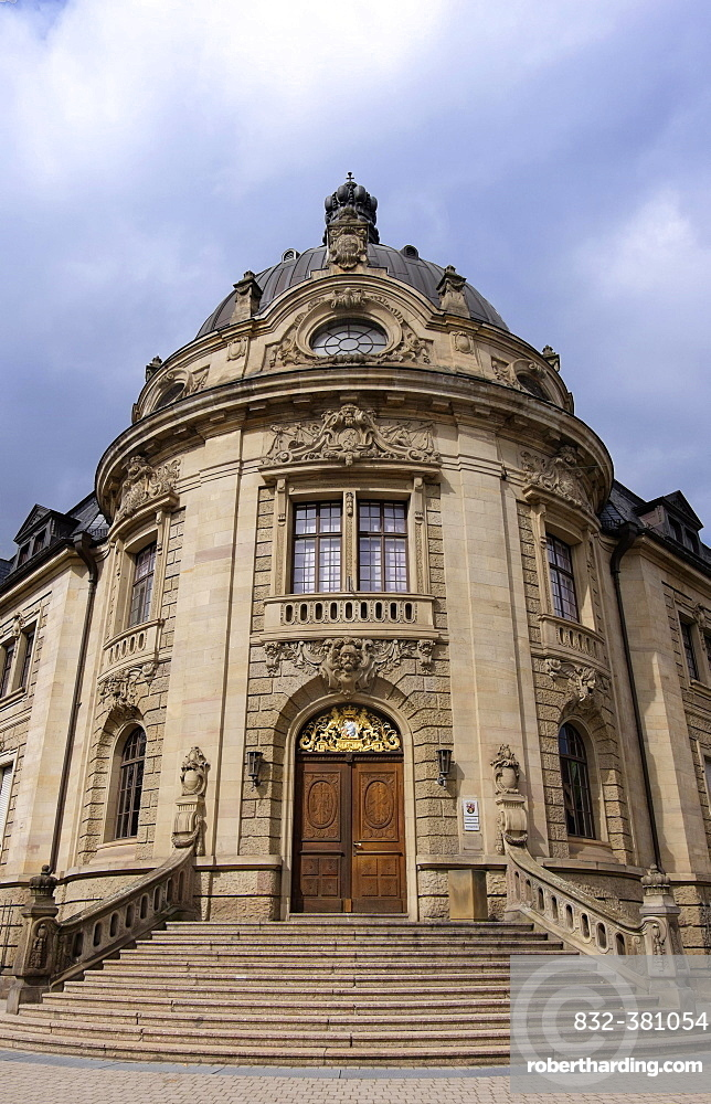 Courthouse, state and district court, Landau, Palatinate, Rhineland-Palatinate, Germany, Europe