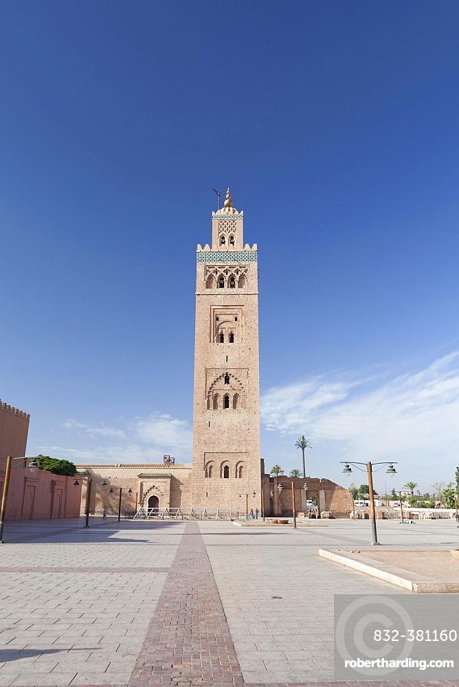 Koutoubia Mosque in Marrakech, Morocco, Africa
