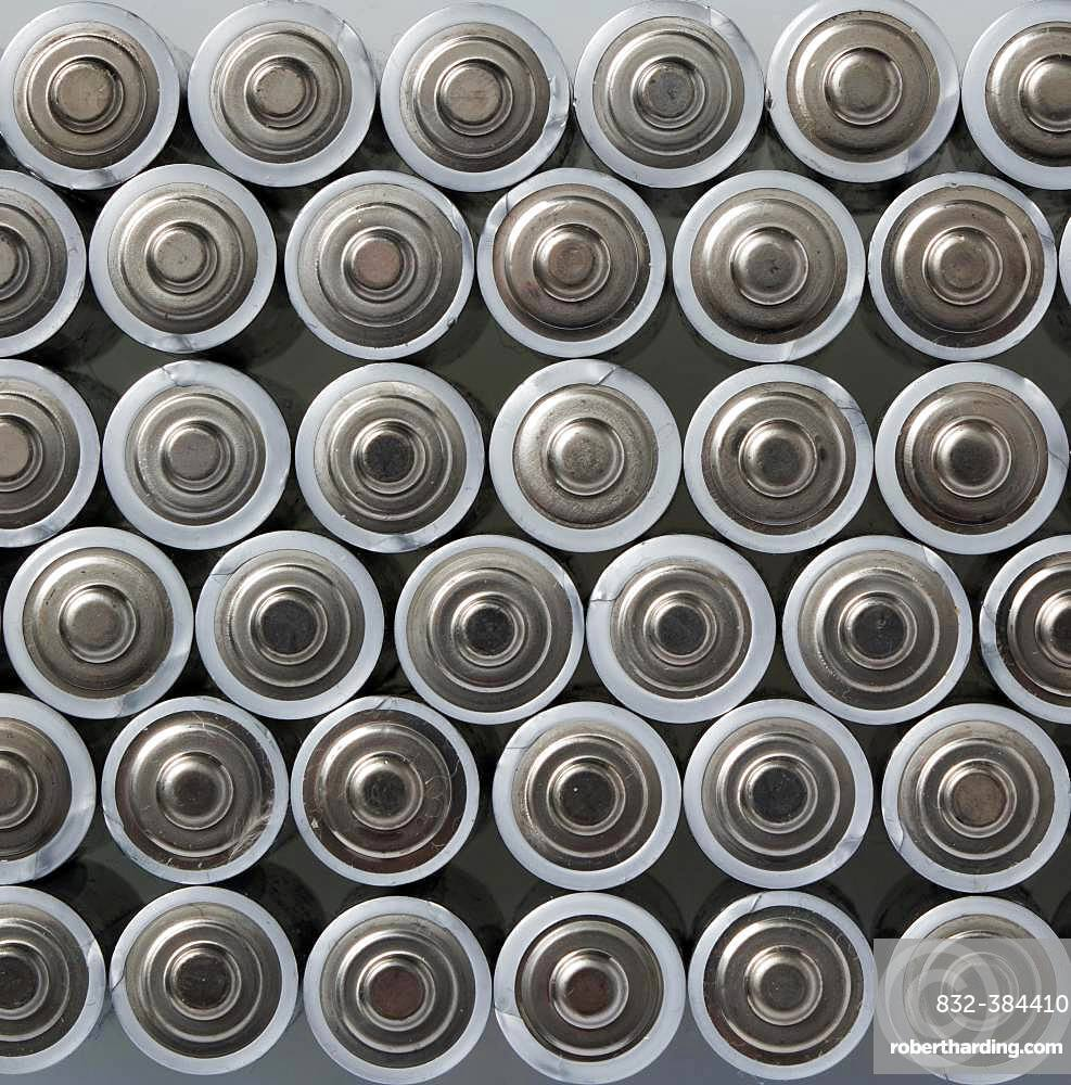 Batteries from above, Germany, Europe