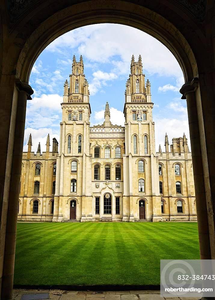 All Souls College, Oxford, England, United Kingdom, Europe