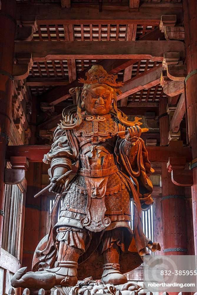 Komokuten, Guardian of the Temple, Todaiji Temple, Buddhist Temple, Nara, Japan, Asia