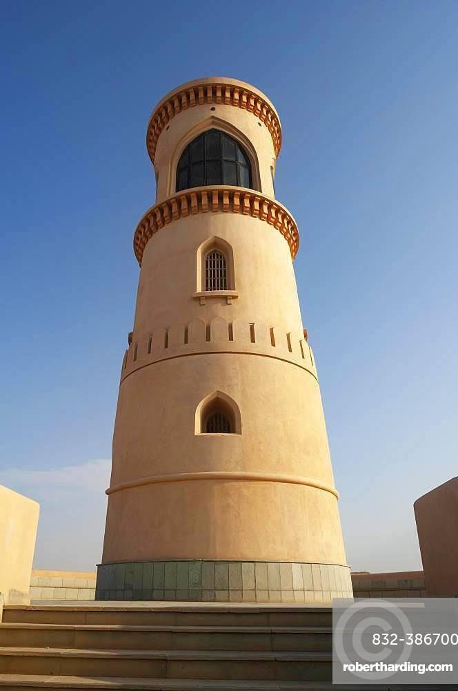 Lighthouse Al Ayijah, Sur, Ash Sharqiyah Province, Sultanate of Oman