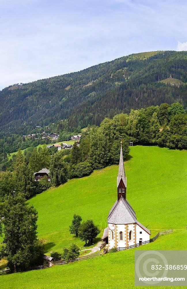 Church St. Catherine in the Bath, Bad Kleinkirchheim, Carinthia, Austria, Europe