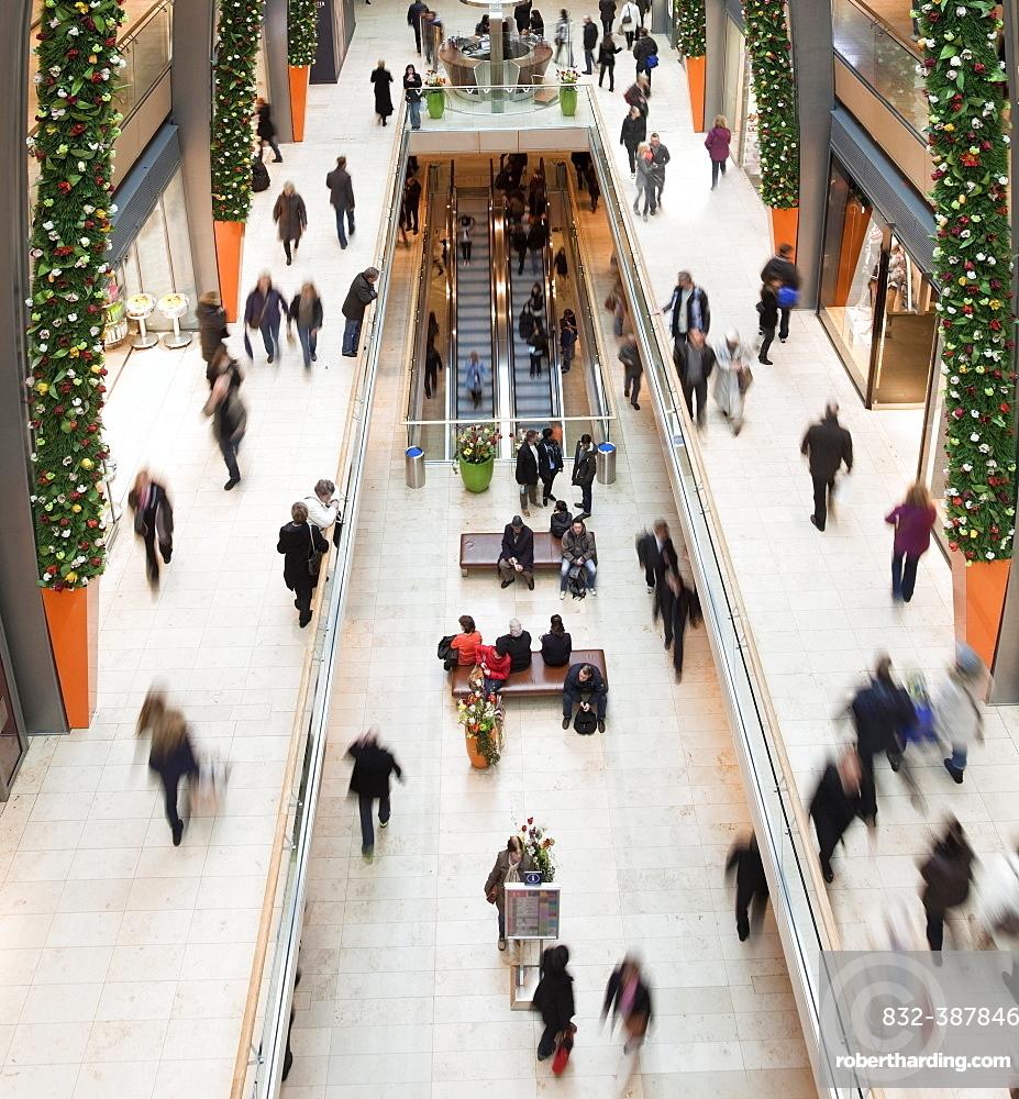 Europapassage, shopping arcade, interior, Hamburg, Germany, Europe