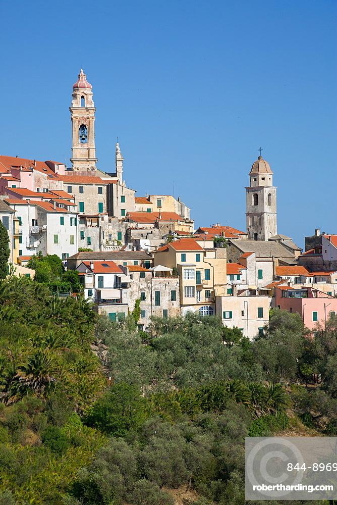 View of Cervo, Imperia, Liguria, Italy, Europe
