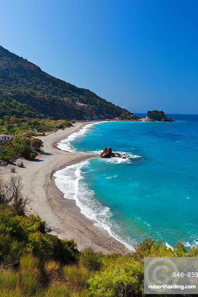 Potami beach, near Karlovassi, Samos, Aegean Islands, Greece, Europe