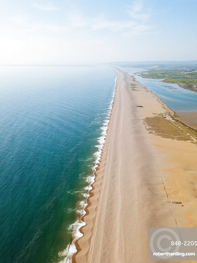 Chesil Beach, Jurassic Coast, UNESCO World Heritage Site, Dorset, England, United Kingdom, Europe