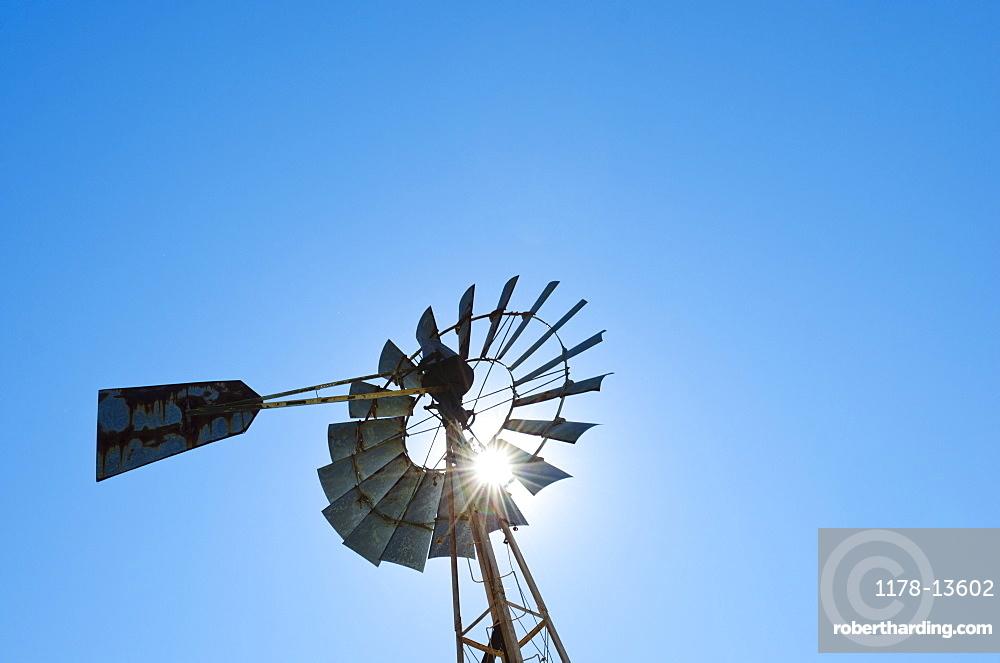 USA, Georgia, Stone Mountain, Old fashioned turbine