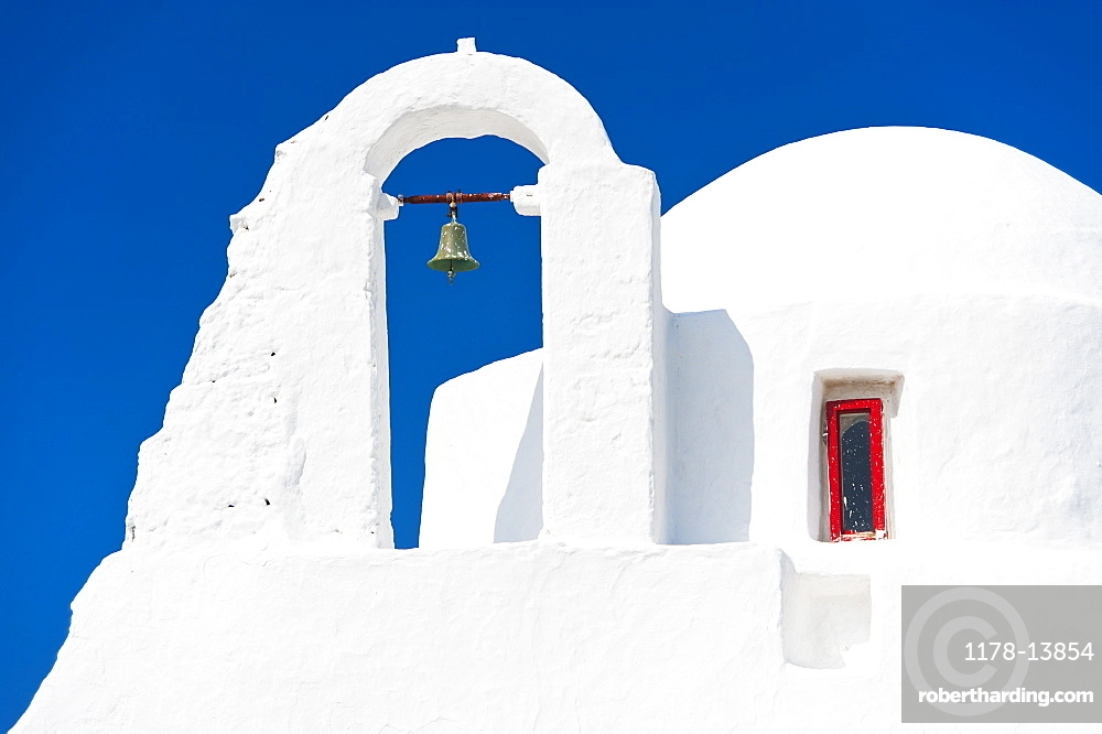 Greece, Cyclades Islands, Mykonos, Paraportiani church