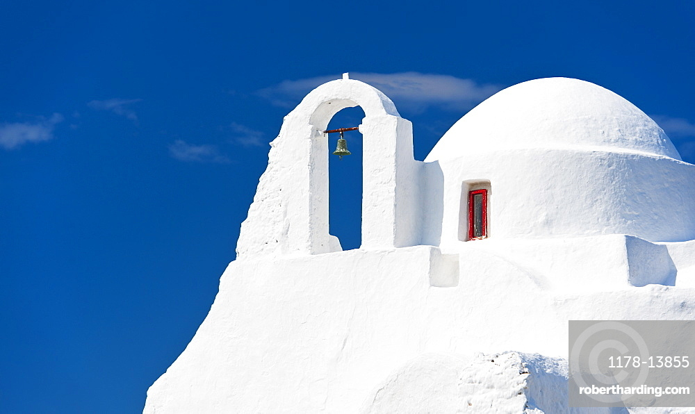 Greece, Cyclades Islands, Mykonos, Paraportiani church