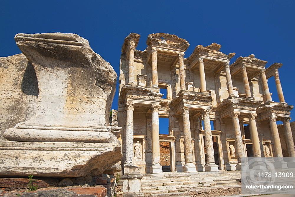 Turkey, Ephesus, Celsus Library