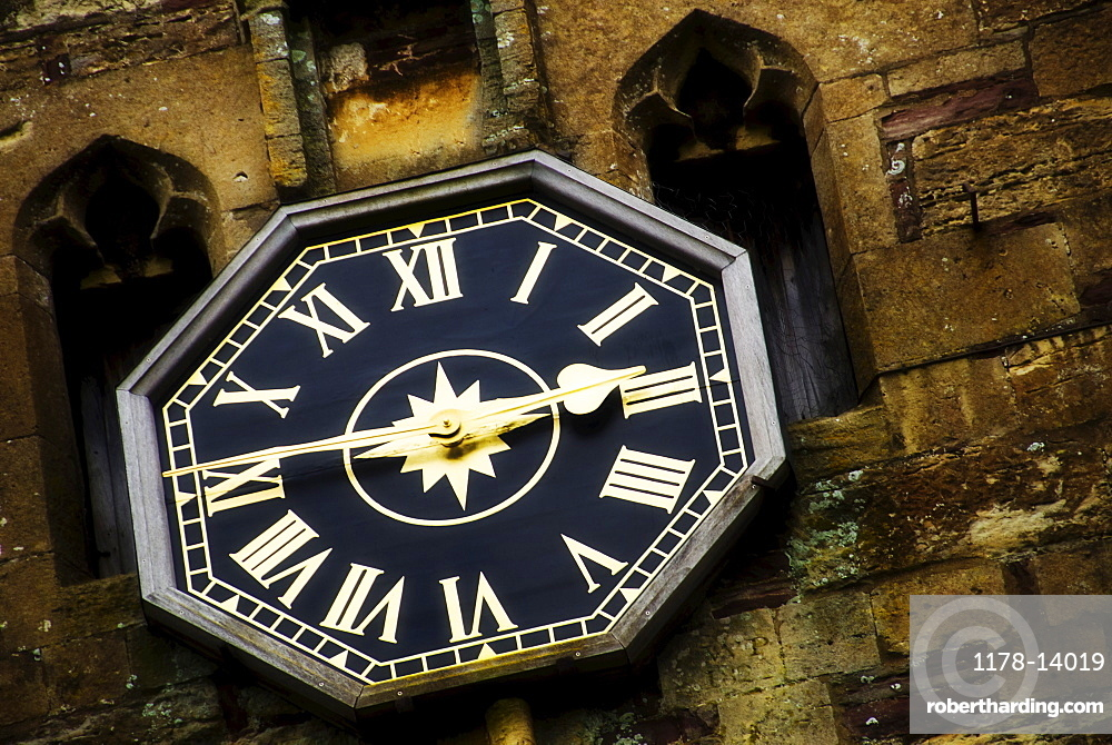 United Kingdom, Bristol, clock on old tower