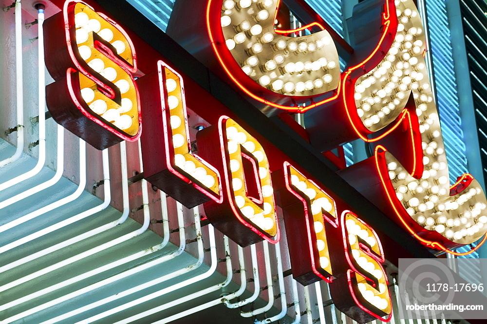 Las Vegas casino sign