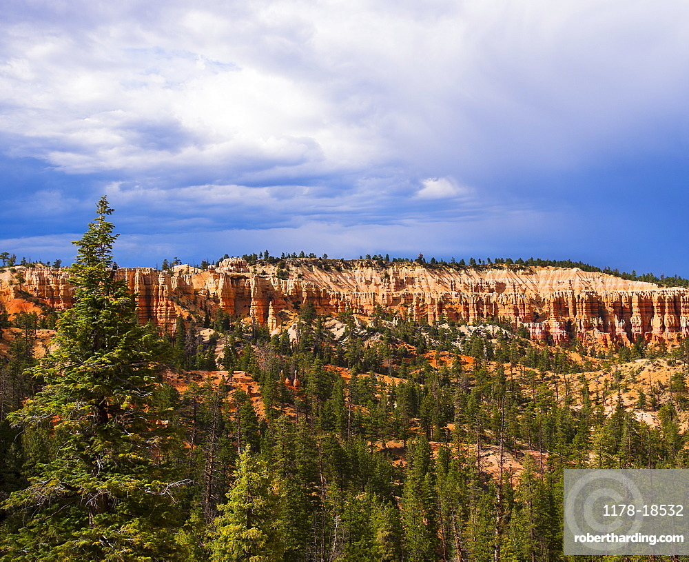 Landscape with rock formation, Bryce Canyon, Utah