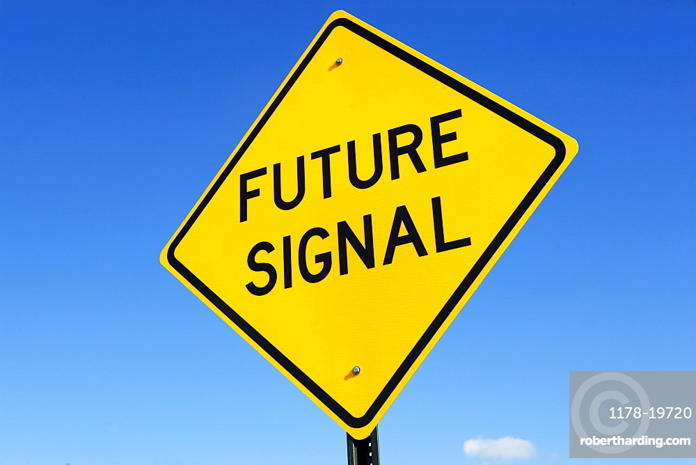A sign that says Future Signal