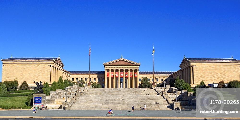 USA, Pennsylvania, Philadelphia, Philadelphia Museum of Art