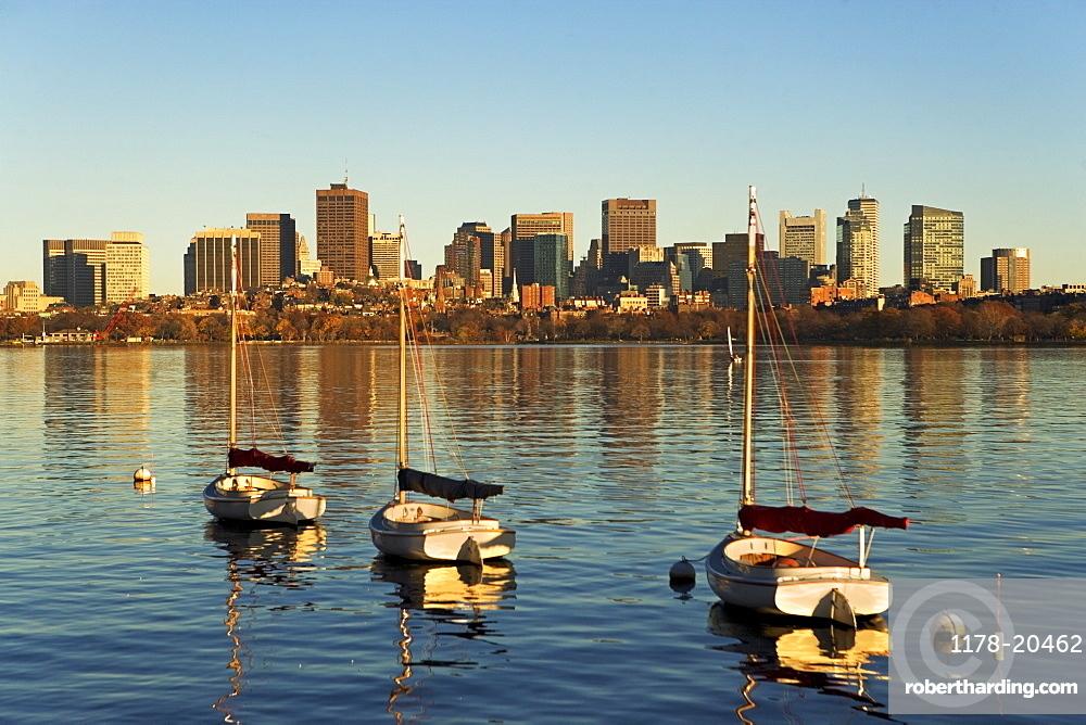 USA, Massachusetts, Boston skyline