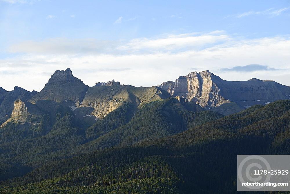 USA, Colorado, Ridgway, Mount Sneffels and Sneffels range in San Juan Mountains