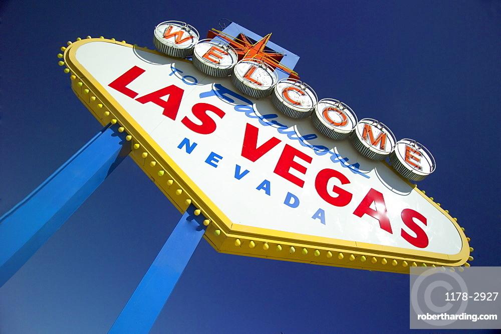 Las Vegas, Nevada welcome sign