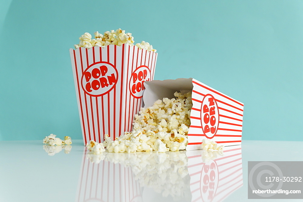 Studio shot of popcorn