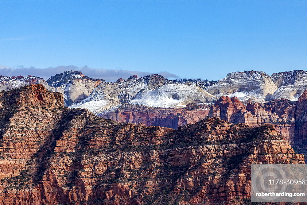 United States, Utah, Zion National Park, Kolob Terrace section of Zion National Park
