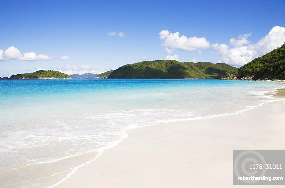 United States, Virgin Islands, St. John, Cinnamon Bay Beach