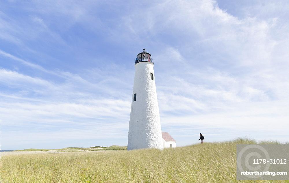 United States, Massachusetts, Nantucket, Great Point Lighthouse