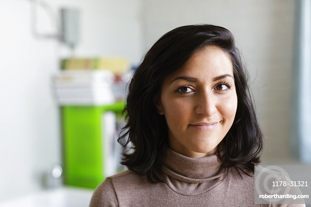 Portrait of a woman in Small Business, Start-up
