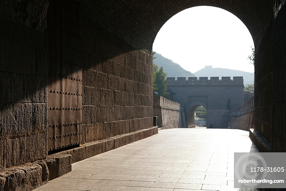 Archway on Great Wall of China