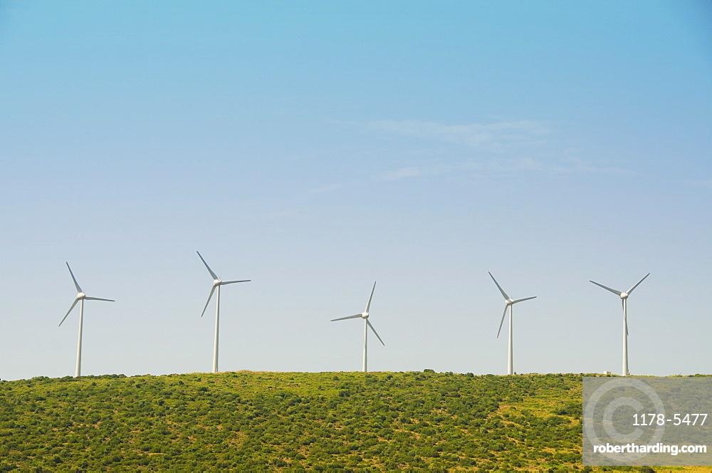 Turkey, Izmir, wind farm