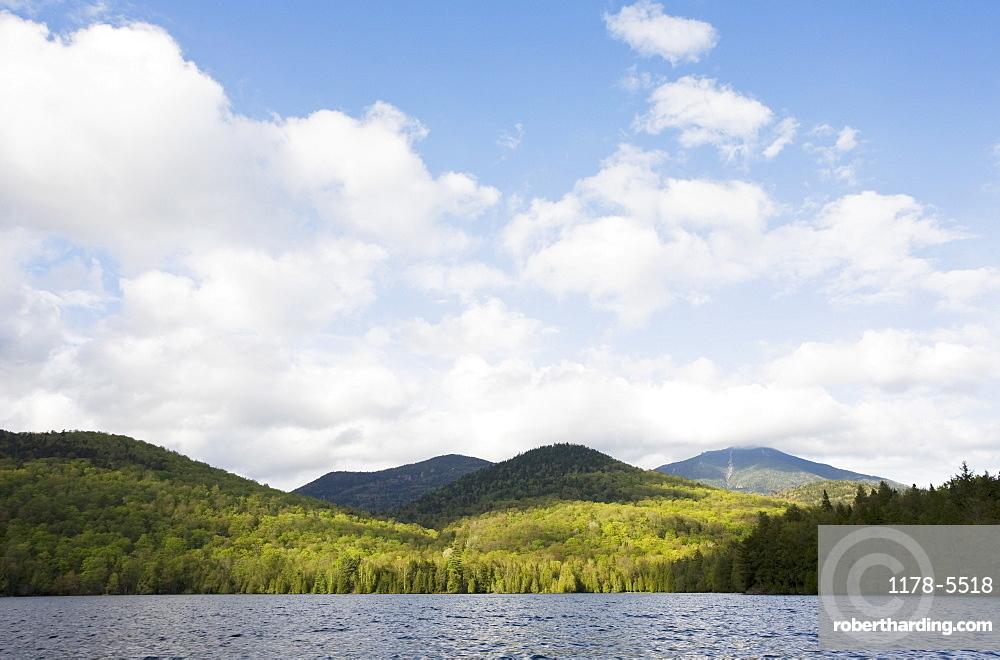 USA, New York State, Adirondack Mountains, Lake Placid