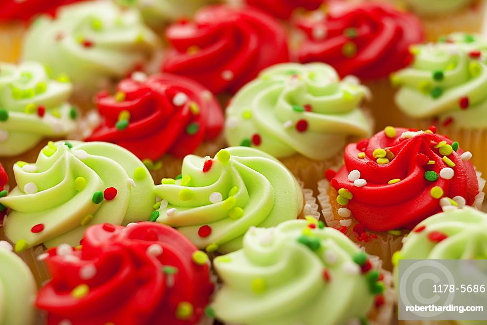 Studio Shot of cookies with sprinkles