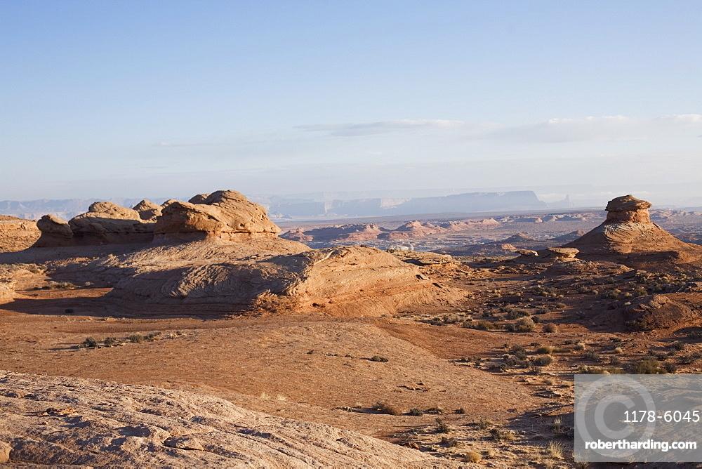 Vermillion cliffs in Arizona desert