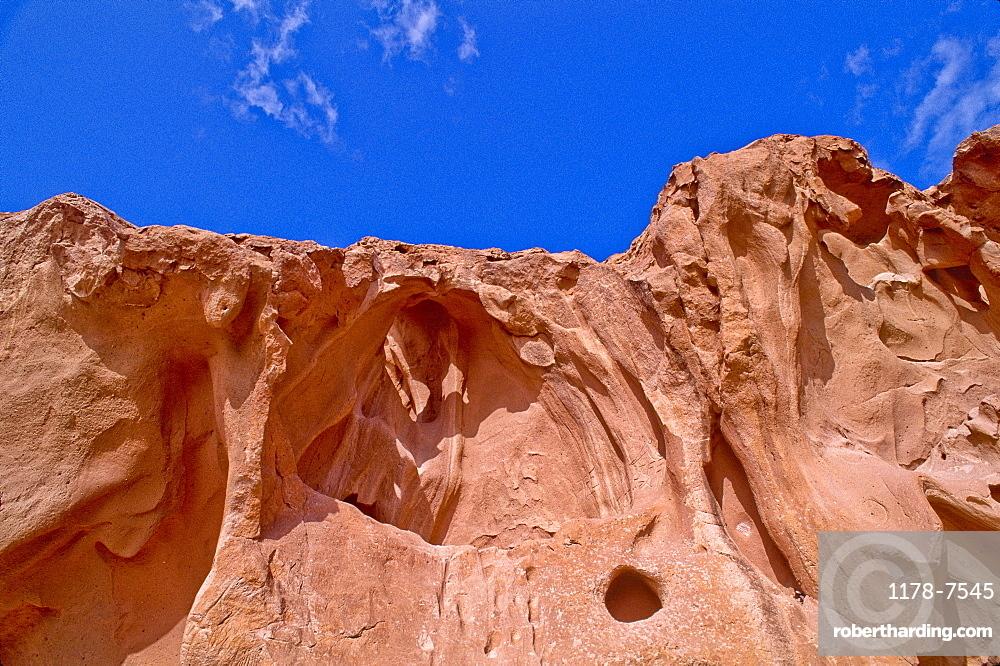 Mexico, Baja California Sur, Eroded rocks