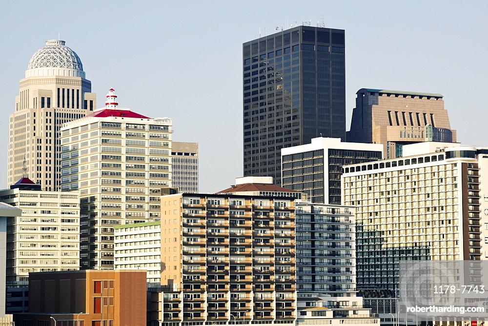 USA, Kentucky, Louisville, Morning skyline