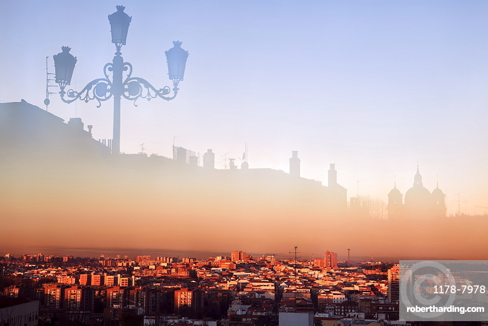 Spain, Madrid, Cityscape