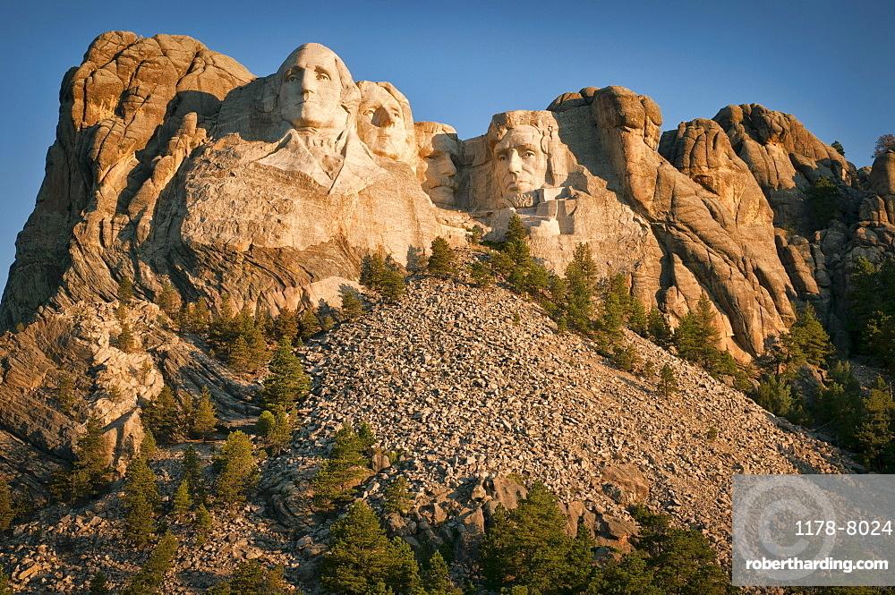 USA, Wyoming, Mount Rushmore