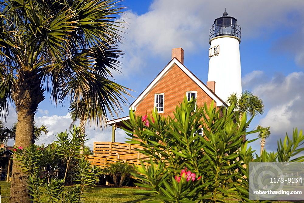 USA, Florida, Saint George Island, Cape St. George Lighthouse