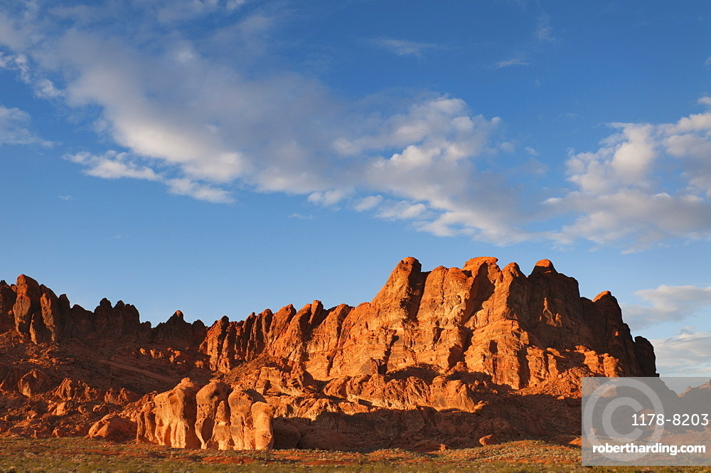 USA, Nevada, Valley of Fire, Red Rock Hills