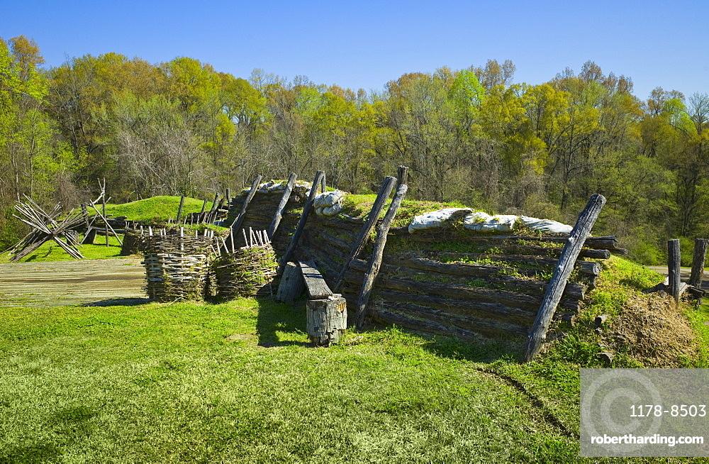 Defenses at Vicksburg National Military Park