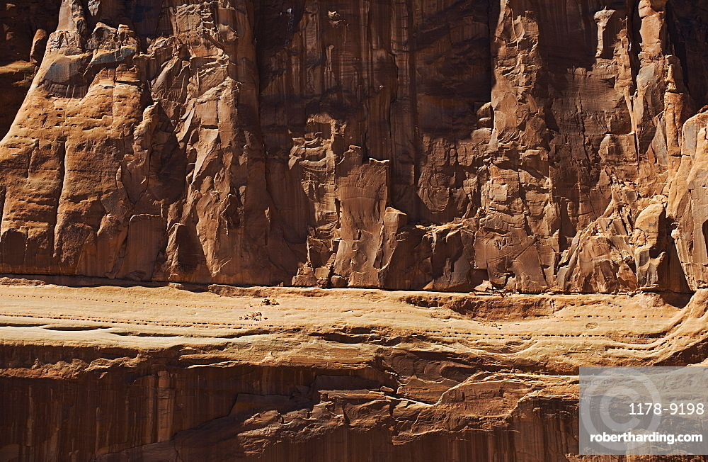 Rock formation in Arches National Park, Utah