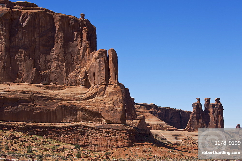 Three Gossips of Arches National Park, Utah