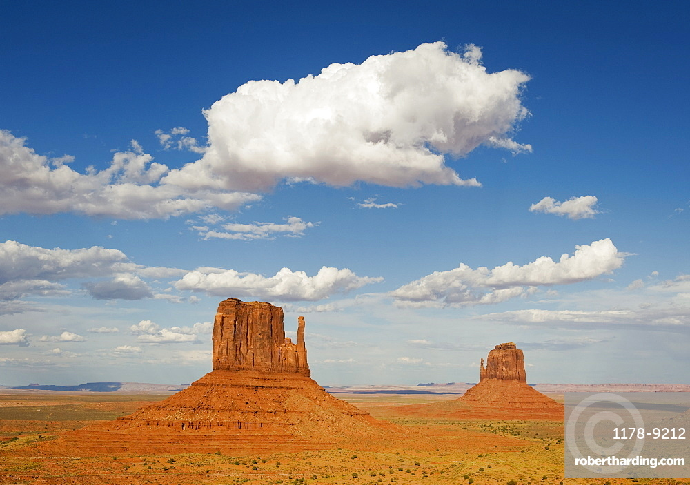 Monument Valley buttes, Utah