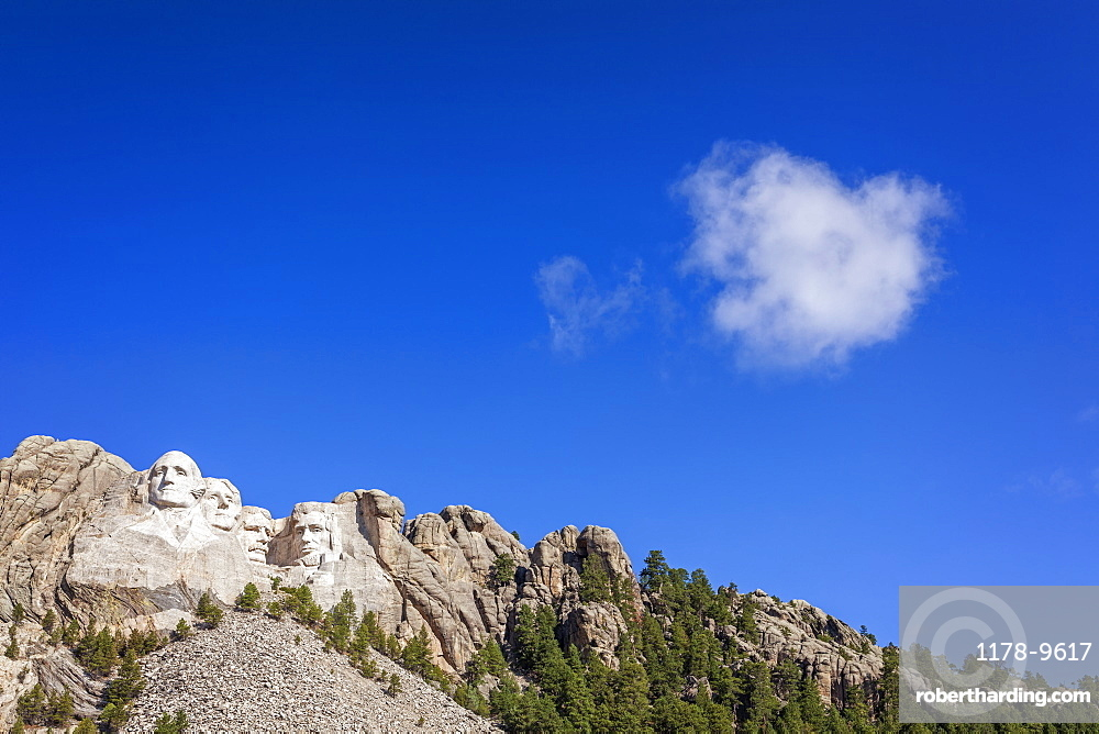 Mount Rushmore, Mount Rushmore National Memorial, Black Hills, South Dakota