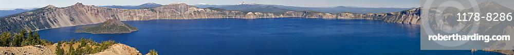 USA, Oregon, Crater Lake